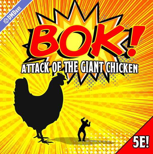 Attack of the giant chicken